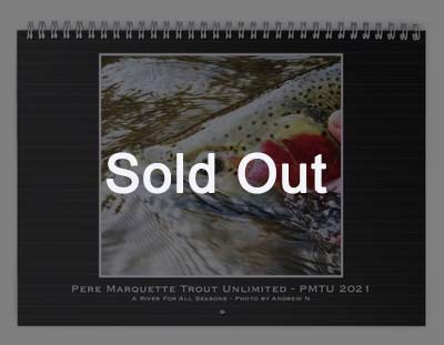 2021 PMTU Calendar   sold out   Pere Marquette Trout Unlimited